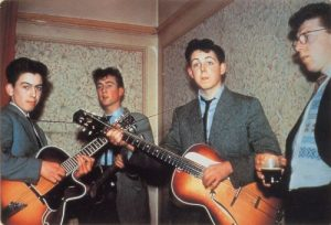 The first Quarrymen photograph